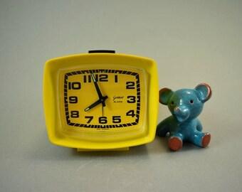 Vintage alarm clock / Goldbühl   Germany   70s