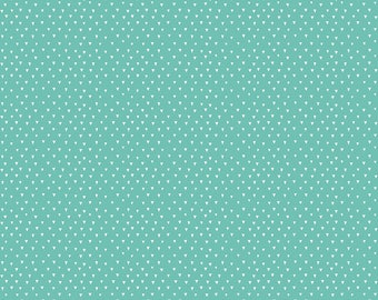 1 Yard Heart and Soul by Deena Rutter and Seek Good Works for Riley Blake Designs - 6704 Aqua Heart Triangle