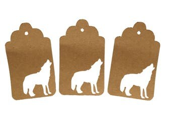 Wolf Gift Tags