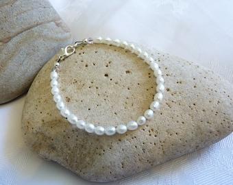 Rice Freshwater Pearl Bracelet