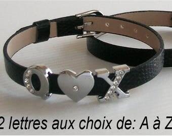 Custom Rhinestone bracelet