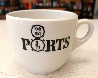 Kon Tiki Ports Kontiki Ports O Call Tea Coffee Cup Cups Tiki Bar Shenango China Chicago Boston
