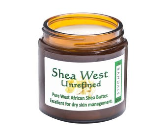 Pure and Unrefined Grade A Shea Butter