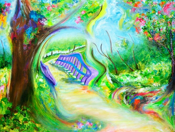 "Original Painting ""Return"""