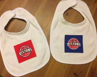 Detroit Pistons Logo Bib