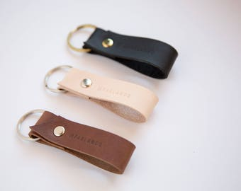 Leather keyring or key chain.