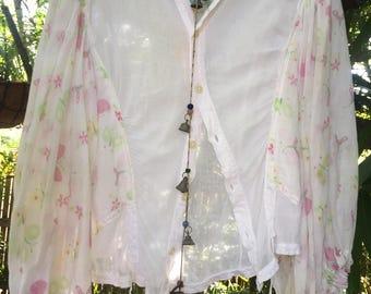 Vintage gauze Paperthin blouse
