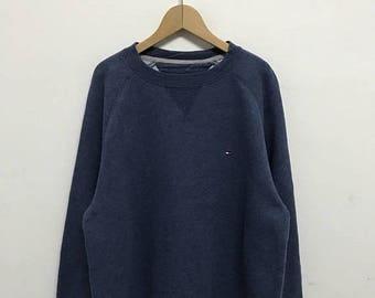 20% OFF Vintage Tommy Hilfiger Sweatshirt,Tommy Hilfiger Pullover Sweater,Tommy Red Sweater,Tommy Sailing Gear