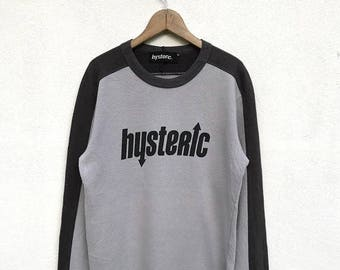 20% OFF Vintage Hysteric Glamour Sweatshirt Long Sleeve T Shirt / Hysteric Japan / Hysteric Spellout / Japanese Brand