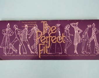 Vintage The Perfect Fit Pattern Making & Styling System 1974 Free Shipping