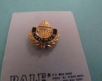 Vintage Bale Chorus Pin Free Shipping