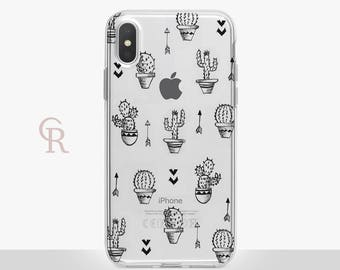 Cactus Phone Case For iPhone 8 iPhone 8 Plus - iPhone X - iPhone 7 Plus - iPhone 6 - iPhone 6S - iPhone SE - Samsung S8 Plus - iPhone 5