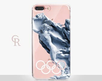 Olympia Clear Phone Case For iPhone 8 iPhone 8 Plus iPhone X Phone 7 Plus iPhone 6 iPhone 6S  iPhone SE Samsung S8 iPhone 5 Transparent