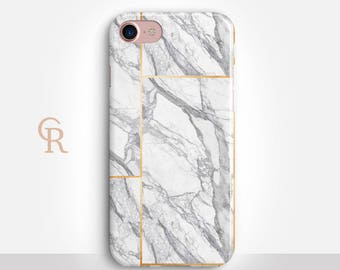 Marble Phone Case For iPhone 8 iPhone 8 Plus iPhone X Phone 7 Plus iPhone 6 iPhone 6S  iPhone SE Samsung S8 iPhone 5 Samsung S7 Edge
