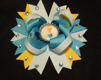 Cinderella boutique hair bow
