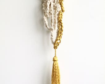 Rapunzel Crochet Wallhanging | Modern House Decor
