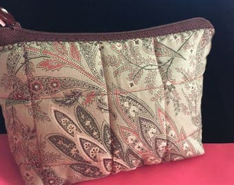 Quilted Handmade Cosmetic Bags