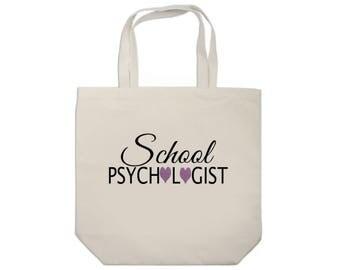 School Psychologist Tote Bag