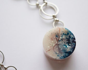 Resin Circle Necklace