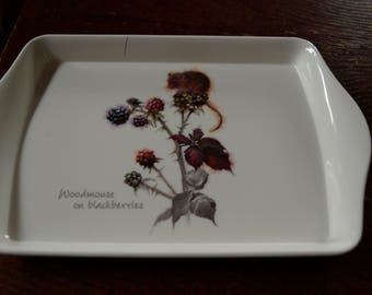 Woodmouse on Blackberries Snack Tray
