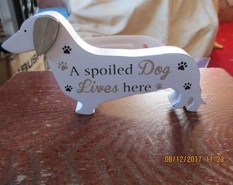 A White Sausage Dog