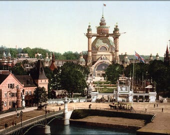 Poster, Many Sizes Available; General Art And Industrial Exposition Of Stockholm In 1897 At Stockholm, Sweden 1897