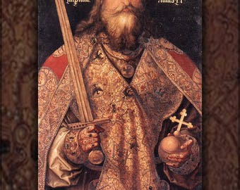 Poster, Many Sizes Available; Charlemagne, By Albrecht Dürer