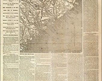 20% Off Sale - Poster, Many Sizes Available; Nyh 1862 Movement Near Charleston, South Carolina
