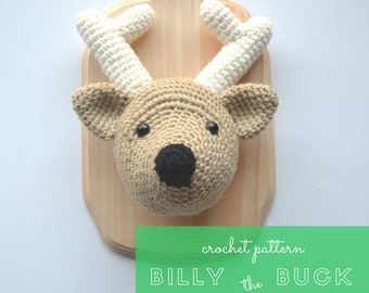 Billy the Buck - Crochet Pattern