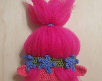 Poppy Troll Hat // Crochet Troll Hat // Poppy Troll Costume