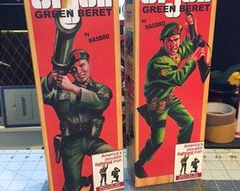 GI joe GREEN BERET custom box
