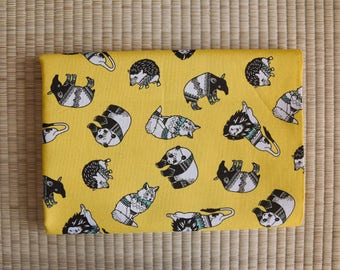 animal fabric for 1/2 yard