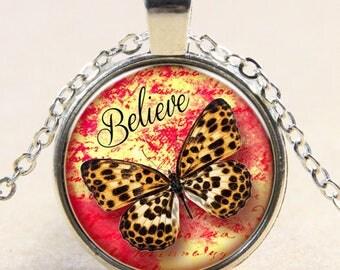 Butterfly Necklace / butterfly