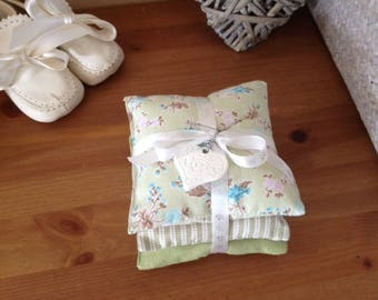 Set of 3 cushions in cotton