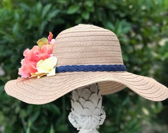 Adult size light brown floppy sun hat!