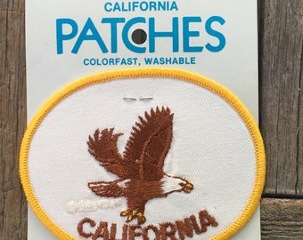 California Vintage Souvenir Travel Patch from Holm Patches