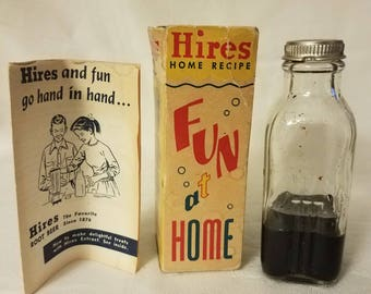 Vintage Hires Root Beer Extract