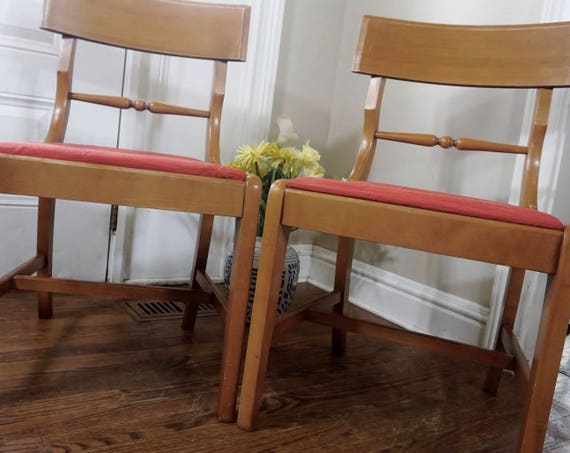 Mid Century Dining Chairs Danish Modern Kitchen Chairs in