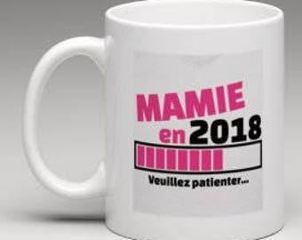 """""""Grandma in 2018"""" mug"""