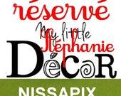 Mot en bois NISSAPIX