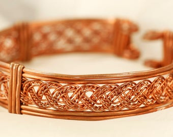 Braided Cuff Bracelet