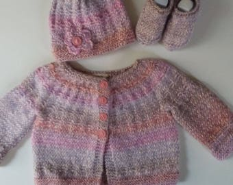 Baby Girls Three Piece Outfit