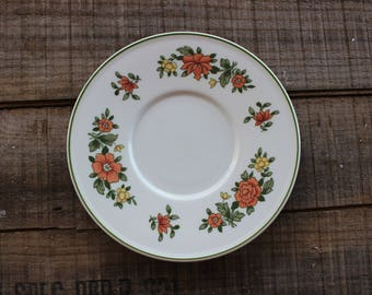 Vintage Set of 14 - VILLEROY & BOCH - Summerday - Saucers - 5 3/4 Inches