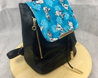 Custom made Olaf back pack