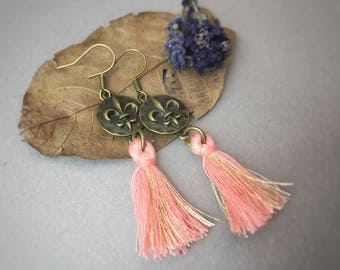 POMPOM Earrings Lily//glamorous//extraordinary//gift
