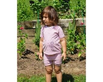 Organic shirt and shorts set