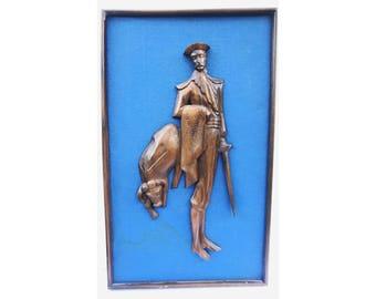 Vintage Matador Art -- Vintage Bullfighter Art -- Mid Century Modern Art -- Matador Art -- Vintage Mid Century Matador