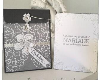 """""""Congratulation"""" wedding envelope"""