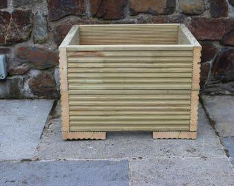 Hand Made Decking Herb, Shrub, Tree Planters - 3 sizes