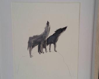 Sacred Wolves